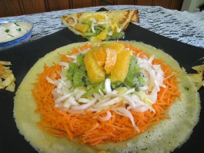 Salade de kiwis et sa sauce à la noix de coco - 11.2