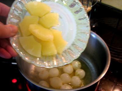 Sauce à l'ananas et aux oignons - 1.4