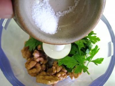 Espadon aux pommes de terre et aux noix - 3.3