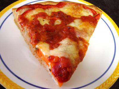 Recette Pizza aux artichauts et mozzarella