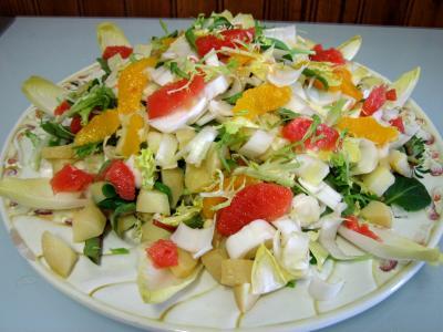 Salade aux restes de pommes de terre vapeur et chèvre - 5.2