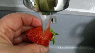 Tarte de Pâques aux fraises et à la brousse - 1.1