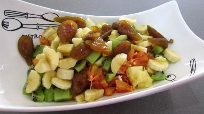 Soupe d'ananas aux fruits et au cognac - 3.4