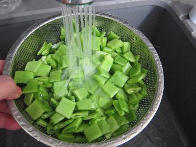 Haricots plats en salade - 1.3