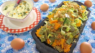 Haricots plats en salade - 4.4