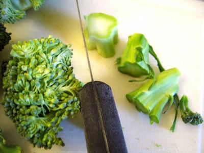 Quiche aux brocolis et saumon - 1.1