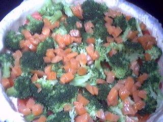 Quiche aux brocolis et saumon - 7.1