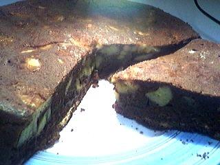 Recette Gâteau au chocolat et aux bananes