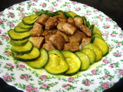 Image : Assiette de sauté de porc au sirop d'érable