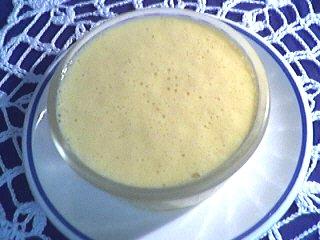 Image : recette Oeufs au lait aux kakis