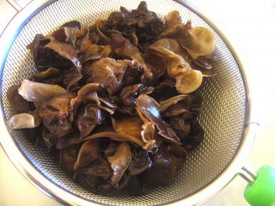 Soupe de poulet aux champignons à la chinoise - 2.2
