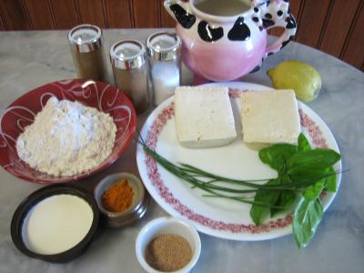 Ingrédients pour la recette : Tofu aux épices