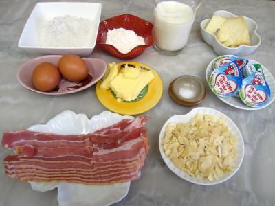 Ingrédients pour la recette : Gâteau de crêpes au sarrasin et aux fromages