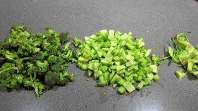 Tagliatelle au poivron et champignons - 3.1