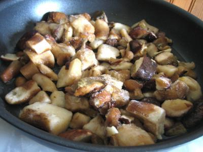 Pommes de terre et patates douces aux cèpes - 5.3