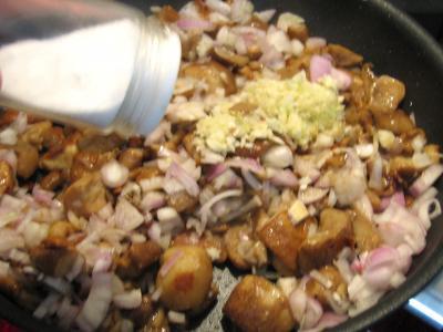 Pommes de terre et patates douces aux cèpes - 6.2