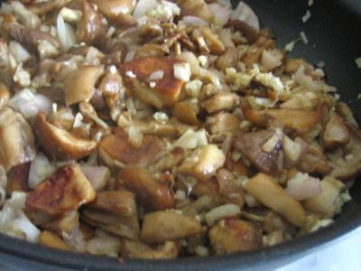 Pommes de terre et patates douces aux cèpes - 7.1