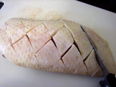 Magret et sa sauce à la chartreuse verte - 5.4