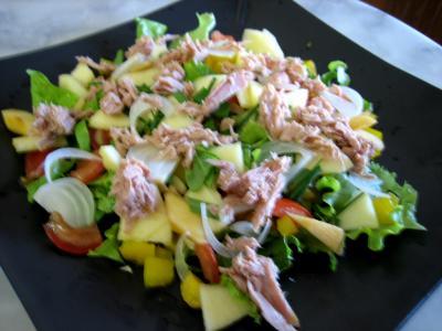 Salade de thon et poivrons - 11.2