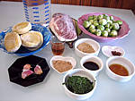 Ingrédients pour la recette : Soupe de magret façon chinoise