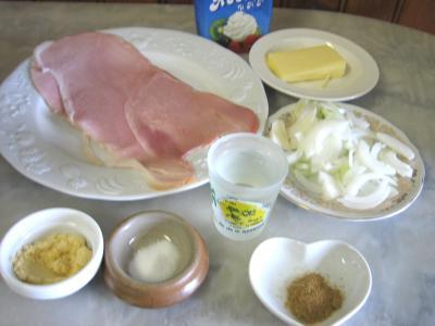 Ingrédients pour la recette : Sauce au martini blanc