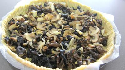 Champignons noirs en tarte - 7.1