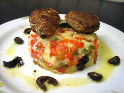 Image : recette Croquettes de sardines et purée de légumes