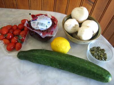 Ingrédients pour la recette : Salade de betterave rouge