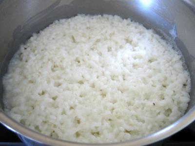 Gâteau de riz farci et sa salade de fruits - 1.4