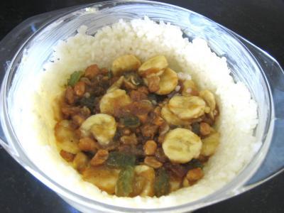 Gâteau de riz farci et sa salade de fruits - 6.2