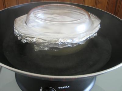 Gâteau de riz farci et sa salade de fruits - 8.3