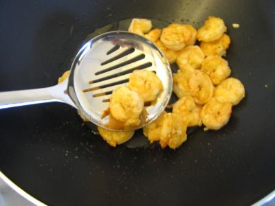 Sauté de crevettes aux légumes - 7.1