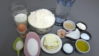 Ingrédients pour la recette : Dampfnudel