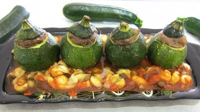 Image : recette Courgettes farcies