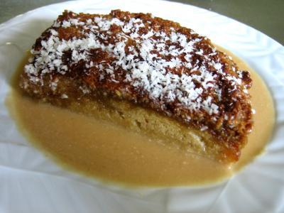 """Recette Gâteau """"cococitron"""" et sa crème de poire"""