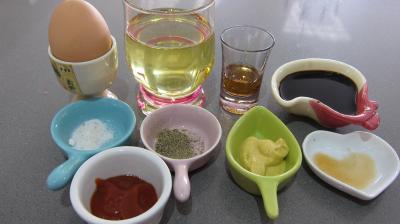 Ingrédients pour la recette : Sauce mayonnaise cocktail