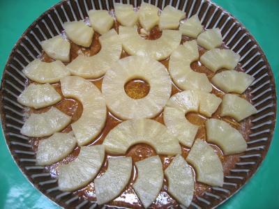 Gâteau aux ananas - 4.1