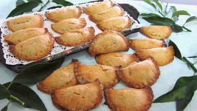 litchi : Chausson aux litchis et sa sauce