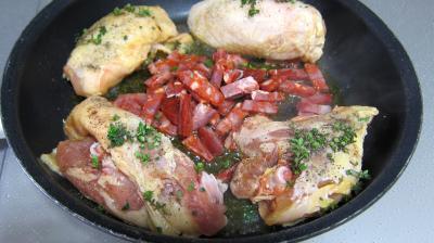 Sauté de poulet à la poire - 7.3