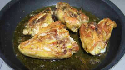 Sauté de poulet à la poire - 8.1