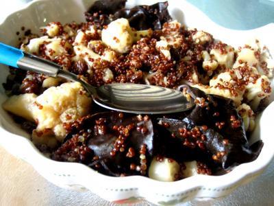 Recette Assiette de quinoa et chou-fleur