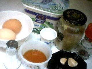 Ingrédients pour la recette : Sauce moutarde au fromage blanc