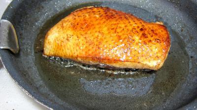 Magret de canard aux pois gourmands - 6.3