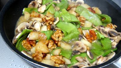 Magret de canard aux pois gourmands - 8.4