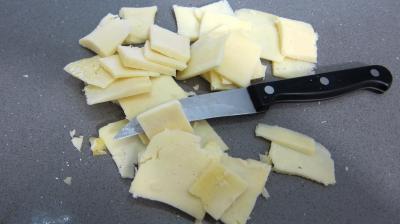 Salade de magret au Cantal - 1.2