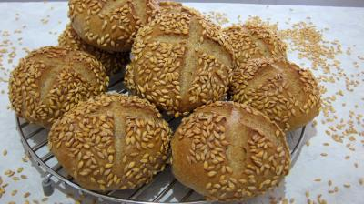 graines d'épeautre : Petits pains de seigle