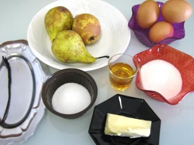 Ingrédients pour la recette : Sabayon aux poires