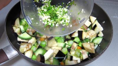 Concombre, poireaux et calamars à l'aigre-doux - 6.3