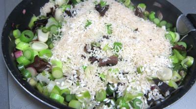 Risotto aux champignons noirs et mascarpone - 3.4