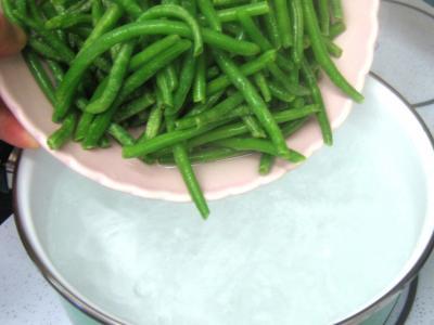 Foie de veau aux haricots verts - 1.2